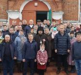 Престольное торжество на Казанском архиерейском подворье с.Маколово Чамзинского района