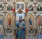 Архипастырь совершил Божественную литургию на Никольском архиерейском подворье п.Атяшево