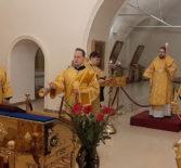 Вечерня с чтением акафиста святителю Луке Крымскому в Никольском кафедральном соборе г.Ардатова