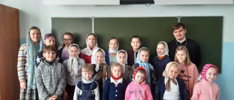 Занятия воскресной школы Никольского кафедрального собора проходят в Ардатовском интернате