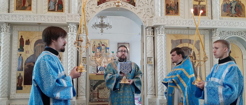 Суббота 26-й седмицы по Пятидесятнице в Никольском кафедральном соборе г.Ардатова