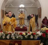 Всенощное бдение с чтением акафиста святителю Николаю, Мирликийскому чудотворцу в Никольском кафедральном соборе г.Ардатова