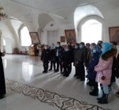 В Никольском кафедральном соборе г.Ардатова прошла экскурсия для учащихся Ардатовской ООШ