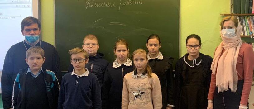 Миссионерское мероприятие в Ардатовской специальной общеобразовательной школе-интернат IV вида