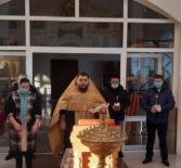 В Дубенках совершили память по погибшим в Чечне воинам