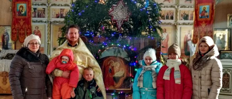 Сабанчеевский приход поздравляет всех с Великим Праздником Рождества Христова и наступившим Новолетием!