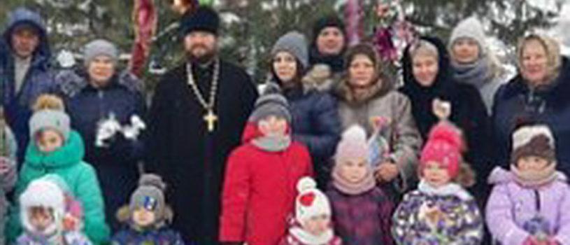 Рождество Христово в Поводимовском приходе Дубенского благочиния