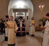 Рождественское Великое повечерие и Утреня в Никольском кафедральном соборе г.Ардатова