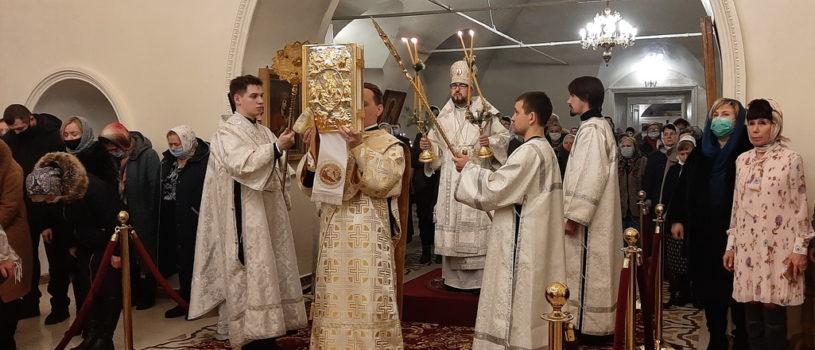 Праздник Рождества Господа Бога и Спаса нашего Иисуса Христа в Никольском кафедральном соборе г.Ардатова