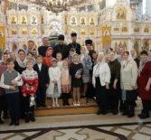 Архипастырь посетил Рождественский праздник воскресной школы Андреевского храма п.Атяшево