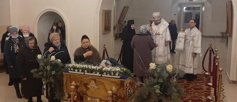 Великое повечерие и Утреня пред Богоявлением в Никольском кафедральном соборе г.Ардатова