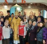 Архипастырь совершил Божественную литургию в Казанском приходе с.Пичеуры Чамзинского благочиния