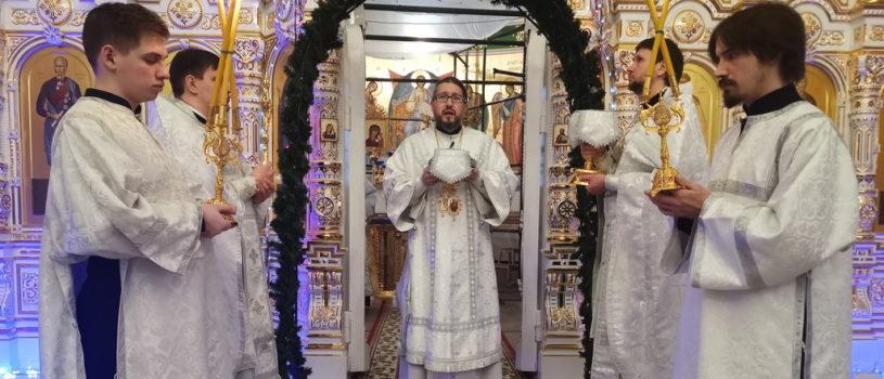 Попразднство Рождества Христова, Собор Богородицы в храме святого апостола Андрея Первозванного п.Атяшево