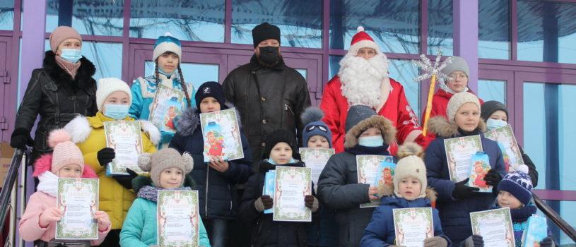 Рождественское представление на центральной площади с.Большие Березники