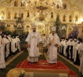 Рождественская Великая Вечерня в Кафедральном соборе святого праведного воина Феодора Ушакова г. Саранска