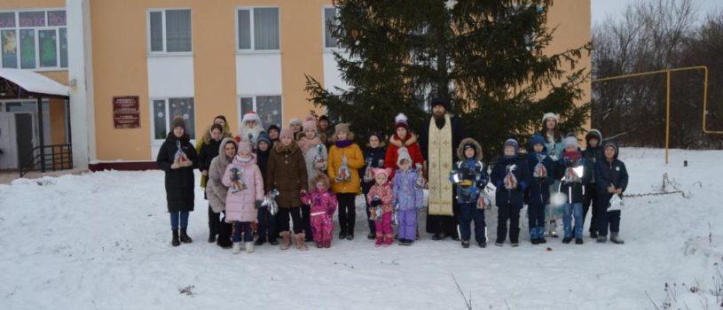 Рождество Христово в Михайловском приходе с.Кабаево Дубенского благочиния
