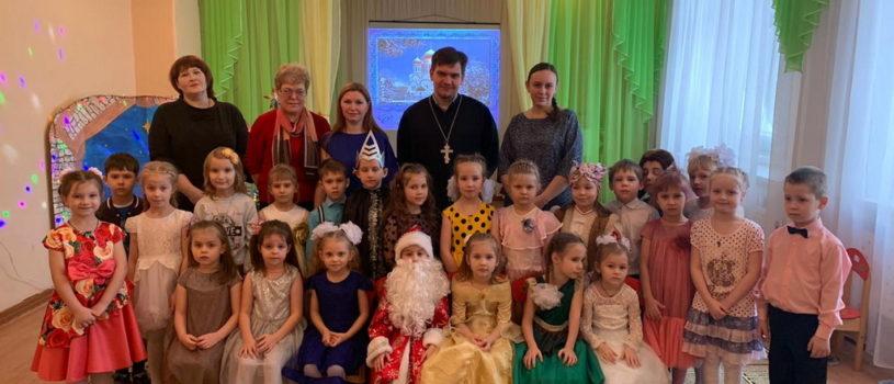 Рождественский утренник в детском саду «Теремок» г.Ардатова