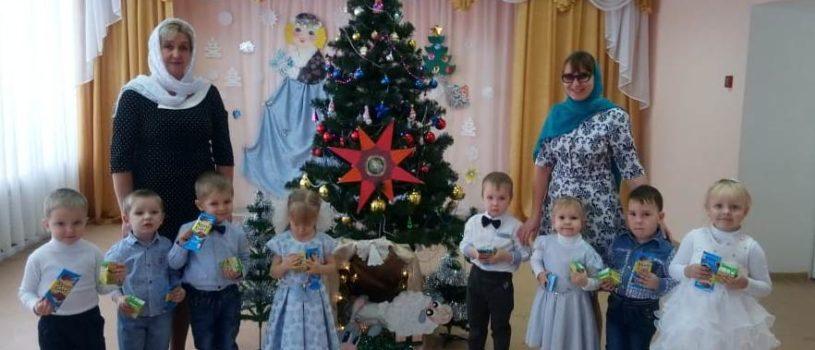 Рождественский утренник в Большеигнатовском детском саду «Колокольчик»