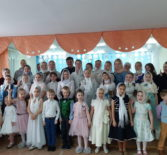 Рождество Христово торжественно отметили ученики воскресной школы Никольского кафедрального собора г.Ардатова