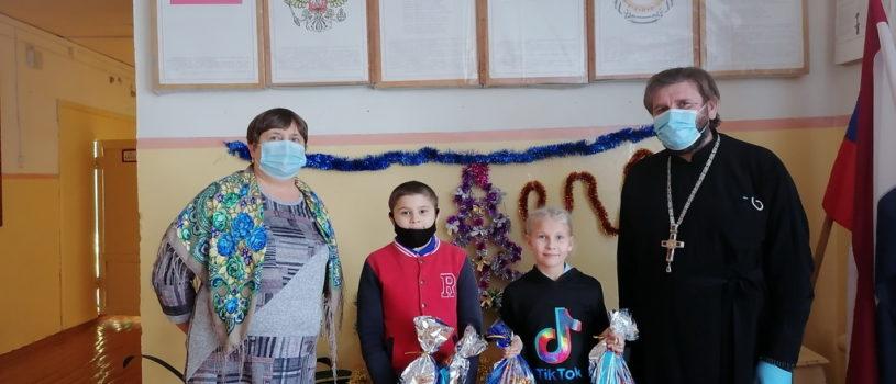 Второй этап благотворительной акции на Рождественских Святках в школах Ардатовского района