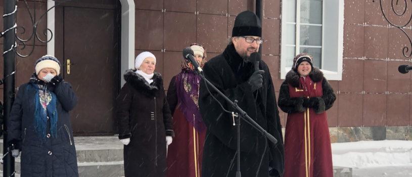 На кафедральной площади г.Ардатова прошло рождественское представление — «Народные Святочные гуляния»