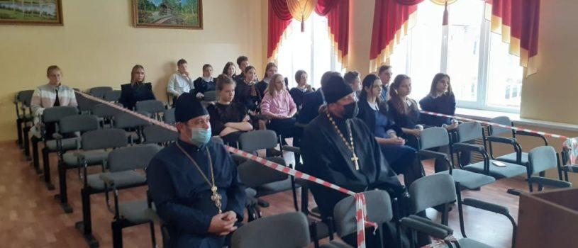 Миссионерское мероприятие в Атяшевской МБОУ «Поселковая средняя школа № 1»