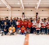 Краснослободская епархия в Атюрьево провела турнир по хоккею с шайбой, посвященный памяти святого праведного воина Феодора Ушакова.