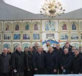 Панихида по воинам-интернационалистам, погибшим в Афганистане в храме Рождества Пресвятой Богородицы с.Поводимово Дубенского благочиния