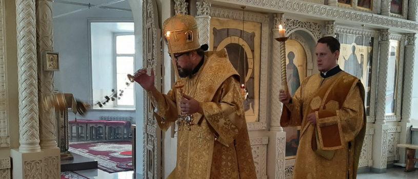 Всенощное бдение в Никольском кафедральном соборе г. Ардатова накануне Недели мясопустной