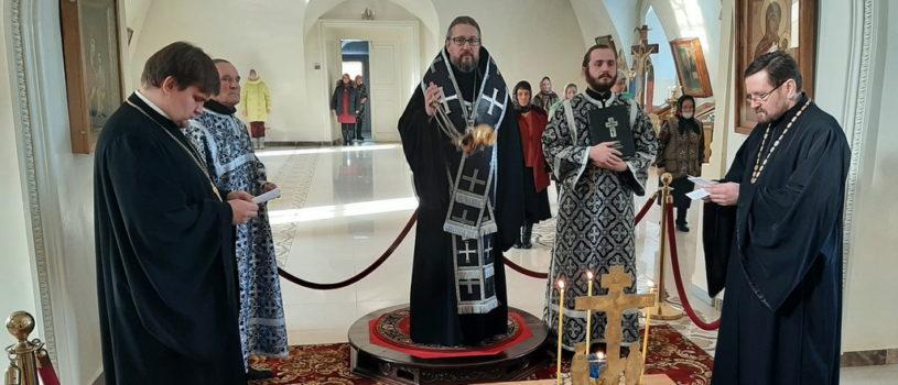 Понедельник 1-й седмицы Великого поста в Никольском кафедральном соборе г. Ардатова