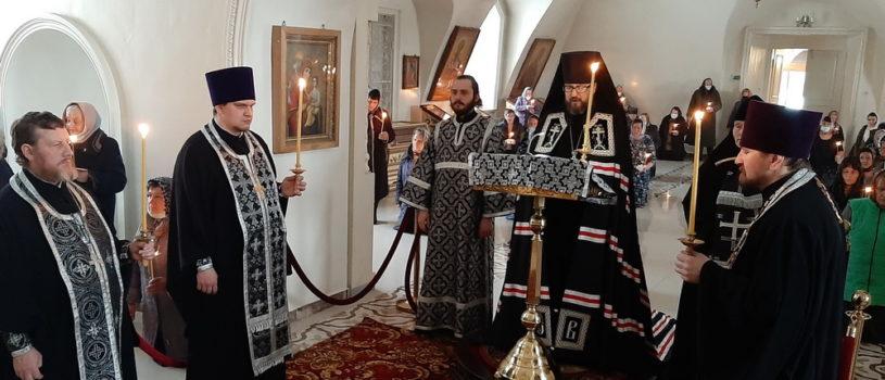 Великий покаянный канон Андрея Критского в Никольском кафедральном соборе г. Ардатова