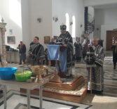 Божественная литургия Преждеосвященных Даров в Андреевском кафедральном соборе п. Атяшево