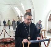 Архипастырь молился на вечернем богослужении в Никольском кафедральном соборе г. Ардатова