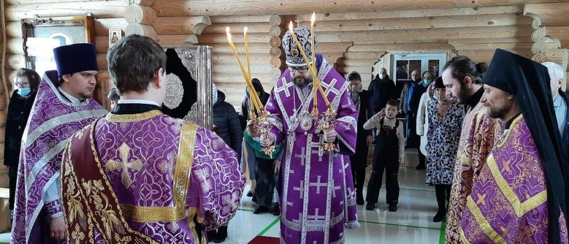 Суббота 1-ой седмицы Великого поста в храме Новомучеников и Исповедников Российских г.Ардатова