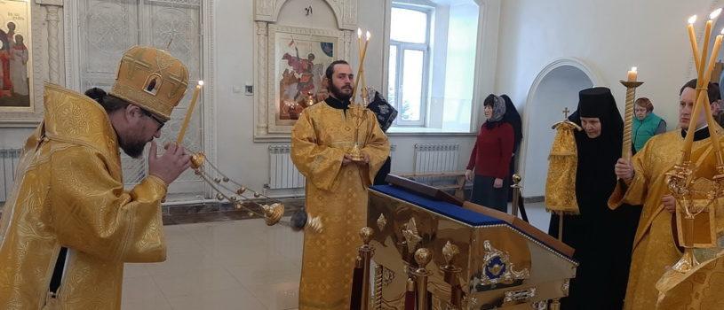 Всенощное бдение накануне Торжества Православия в Никольском кафедральном соборе г. Ардатова