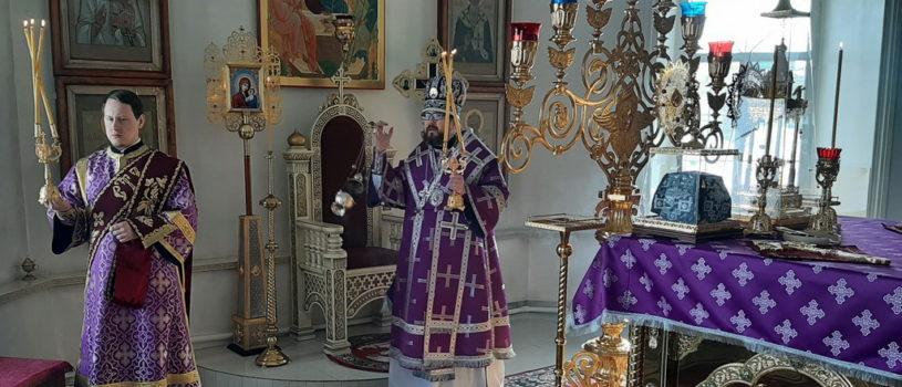 Понедельник 2-й Седмицы Великого поста, память 40-а мучеников Севастийских в Никольском кафедральном соборе г.Ардатова