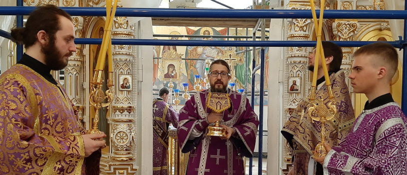 Суббота 2-й седмицы Великого поста, поминовение усопших в Андреевском кафедральном соборе п. Атяшево