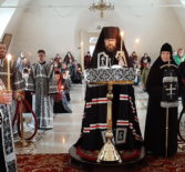 Великое повечерие с чтением покаянного канона Андрея Критского в Никольском кафедральном соборе г. Ардатова