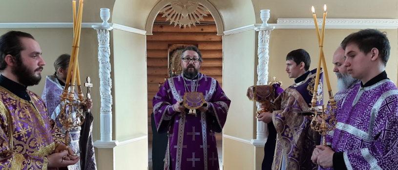 Неделя 2-я Великого поста на Лукинском архиерейском подворье г.Саранска