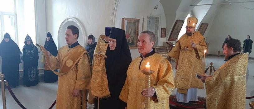 Всенощное бдение в Никольском кафедральном соборе г. Ардатова