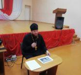Миссионерское мероприятие в Большеберезниковской СОШ №1 в день праздника сорока мучеников Севастийских