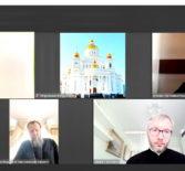 ЗаседаниеАрхиерейского Совета Мордовской митрополии в дистанционном формате