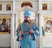 Суббота 5-й седмицы Великого поста — Суббота Акафиста, Похвала Пресвятой Богородицы в Никольском кафедральном соборе г.Ардатова