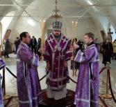 Неделя 5-я Великого поста, прп. Марии Египетской в Никольском кафедральном соборе г.Ардатова
