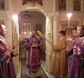 Великий Четверг Страстной седмицы, воспоминание Тайной Вечери в Никольском кафедральном соборе г.Ардатова