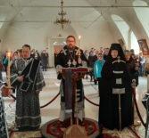 Воспоминание Святых Страстей Господа нашего Иисуса Христа в Никольском кафедральном соборе г.Ардатова