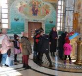 Крестопоклонная Неделя Великого поста в воскресной школе кафедрального собора апостола Андрея Первозванного п.Атяшево