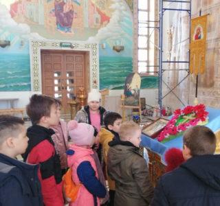 Крестопоклонная Неделя в воскресной школе Андреевского кафедрального собора п.Атяшево
