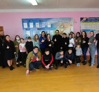 Архипастырь посетил Большеберезниковскую СОШ, где прошел этап проекта «Дорога добра»