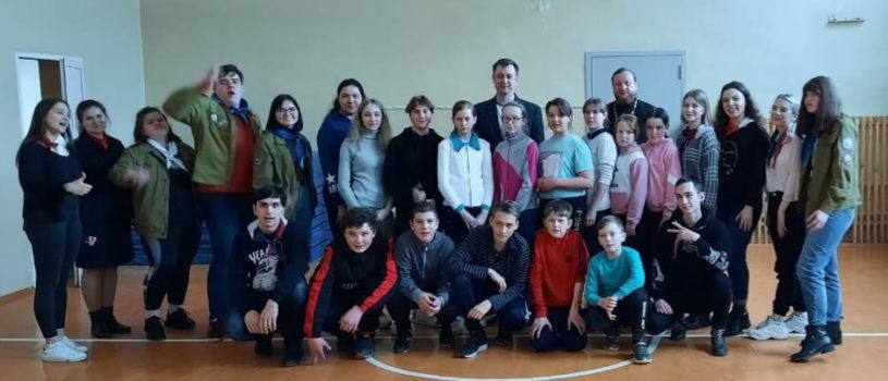 В Большеберезниковской СОШ №2 прошел очередной этап комплекса мероприятий «Дорога добра»